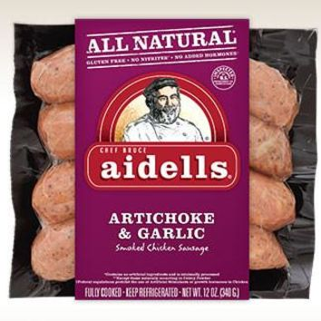 Aidell's Smoked Chicken Sausage  12 OZ