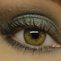 Metallic Silver Eyeshadow - SLAYER Mineral Eye Shadow - Large 10 gram jar