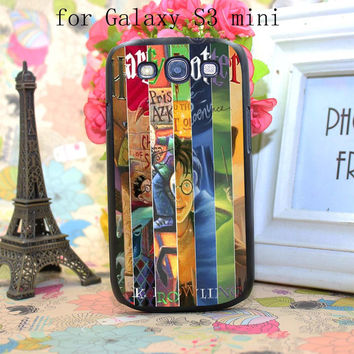 harry potter all books New Fashion Design Hard Black Case Cover for Samsung Galaxy S3 S4 S5 S3 mini S4 mini S5 Mini S6 S6 Edge