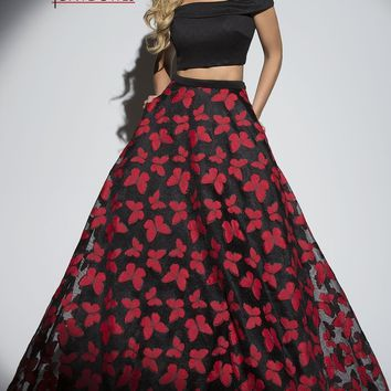 Tony Bowls Butterfly Two Piece With Pockets