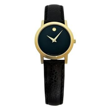 Movado Museum Leather Watch 0606088