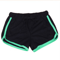 Summer Women's Hot Short Shorts Workout Waistband Fitness Shorts