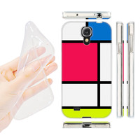 HEAD CASE HUED TILES GEL BACK CASE COVER FOR SAMSUNG GALAXY S4 I9500