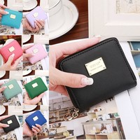 Women Leather Small Wallet
