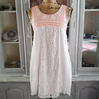 A BEAUTIFUL DAY DRESS IN IVORY