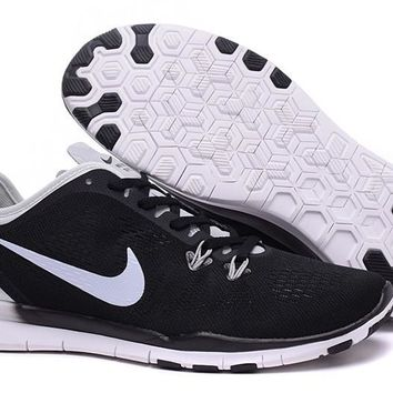 Nike Free TR FIT 5 Brthe Women's Training Shoes Clearwater Black/White