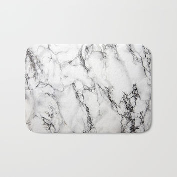 Marble #texture Bath Mat by Follow Me Away