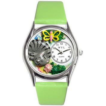 Cat Nap Watch Small Silver Style