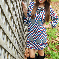 Find You There Dress: Multi