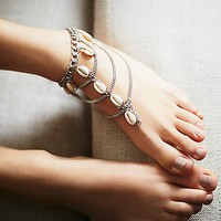Free People Talulah Shell Anklet