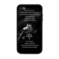 Bring Me The Horizon Happy Song Band Lyric  Iphone 4s Case