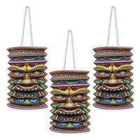 Tiki Lanterns 3/Pack