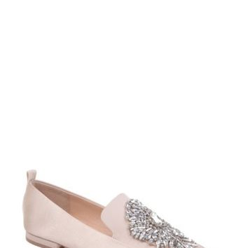 Badgley Mischka | Salma Crystal Embellished Loafer | Nordstrom Rack