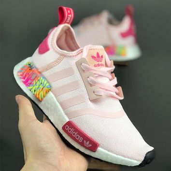 Adidas/NMD_R1 Strength shock absorption breathable comfortable wear-resistant running shoes