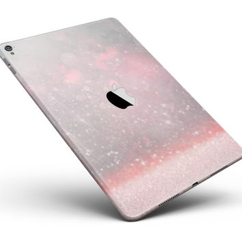 "Muted Pink and Grunge Shimmering Orbs Full Body Skin for the iPad Pro (12.9"" or 9.7"" available)"