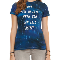 Why Fall In Love Girls T-Shirt