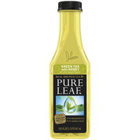 Pure Leaf Green Tea with Honey 18.5 oz Bottles - Pack of 12
