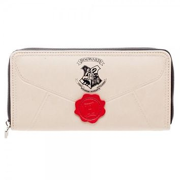 Harry Potter Letter Zipper Wallet