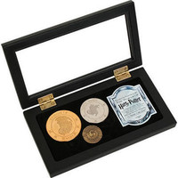 Gringotts Bank Coin Collection by Noble Collection | HarryPotterShop.com