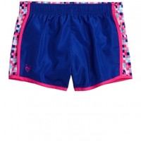 Printed Inset Running Shorts