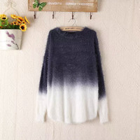 New Fashion Knitted Oversized Fluffy Sweaters