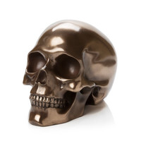 Resin Skull - Bronze Finish