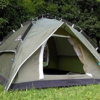 quality Instant tent Automatic camping tent 3-4 person Double layer 190T Outdoor portable tents