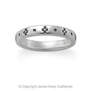 Cruz Stacked Ring from James Avery