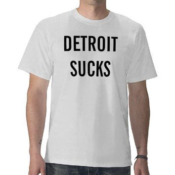 Detroit Sucks Almost Famous Phillip Seymour Hoffma T-shirts from Zazzle.com