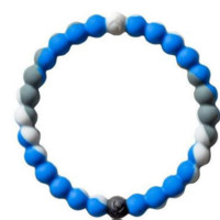 Lokai Blue and White Bracelet