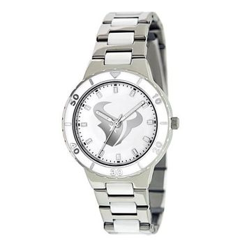 Ladies NFL Houston Texans Watch Mother Of Pearl