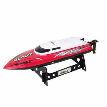 UDI001 Remote Control Boat for Pools, Lakes and Outdoor Adventure - 2.4GHz Cooling High Speed Electric RC Boat Toy Best Gifts