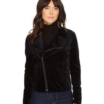 AG Adriano Goldschmied Quincy Biker Jacket in True Black