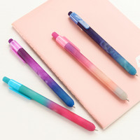 1 X novelty starry gel pen writing pens stationery canetas escolar material school supplies papelaria