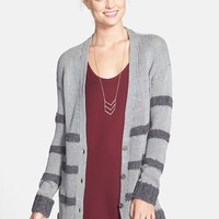 BP. Boucle Stripe Cardigan (Juniors)