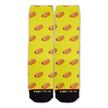 Function - Hot Dog Pattern Socks
