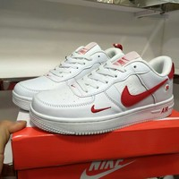 """""""Nike Air Force 1"""" Unisex Casual Fashion Low Plate Shoes Couple Sneakers"""
