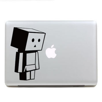 Crying Pacman Macbook Decal Sticker Handmade by Newvision2012