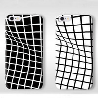 Unique Twisted Grid Pattern Silicone Iphone 6s 5 6 Plus Cases  iPhone 7 7Plus Cases + Free Gift Box + Free Shipping