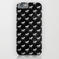 Unicorn Party iPhone & iPod Case by Leah Flores