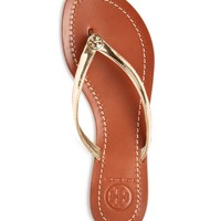 Tory Burch Terra Metallic Thong Sandals | Bloomingdales's