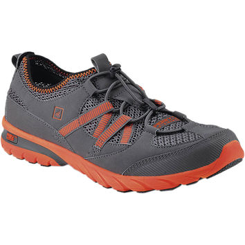 Sperry Top-Sider Shock Light Water Shoe - Men's Grey/Orange,