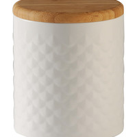 5.9'' Scallop Embossed Canister