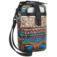 Sakroots Artist Circle Smartphone Wristlet, Radiant One World, One Size
