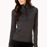 Fair Isle Running Jacket