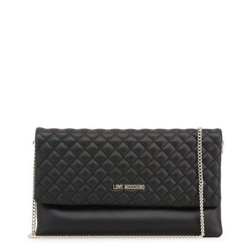 Love Moschino Jc4097Pp16La Women Black Clutch bags