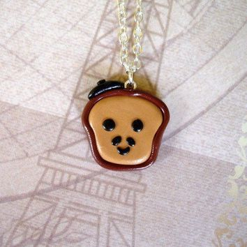 The Original Claude the French Toast Necklace by Pumpkinpye517