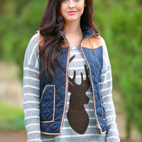 Right As Reindeer Knit Sweater
