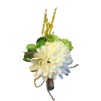 Boutonniere for Groomsmen/ Groom - Free Shipping