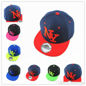 15 Kind Yankees solid Snapback Baseball Flat edge Caps NY Hats  Unisex Sports Adjustable Bone Women casquette Men Casual headware